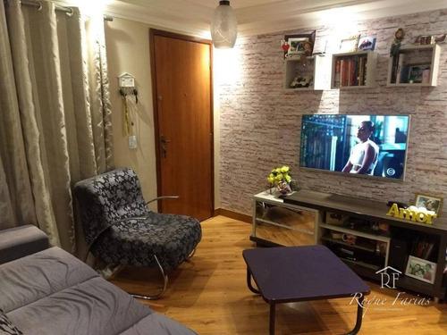 Imagem 1 de 13 de Apartamento Com 2 Dormitórios À Venda, 47 M² Por R$ 220.000,00 - Conceição - Osasco/sp - Ap4815