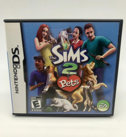 Sims 2 Pets Nintendo Ds 3ds Original Americano Completo