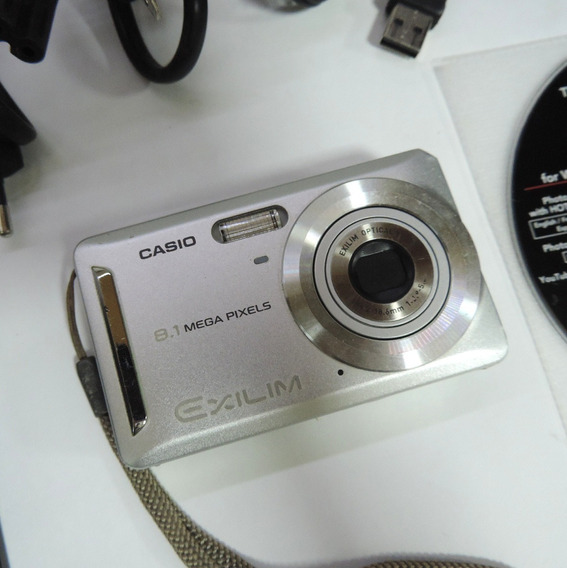 Câmera Digital Casio Exilim Ex-z9 8.1mp