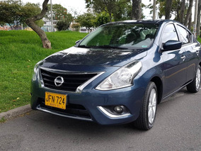 Nissan Versa Advance, Cc. 1600, 2017, Mt, Full Equipo!!!