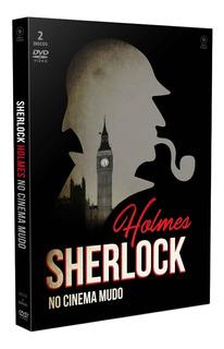 Dvd Sherlock Holmes No Cinema Mudo C/cards Opc Bonellihq G19