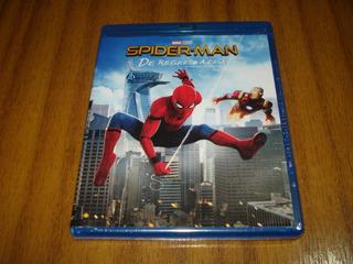 Bluray Spider Man / De Regreso A Casa (nuevo Sellad) Marvel