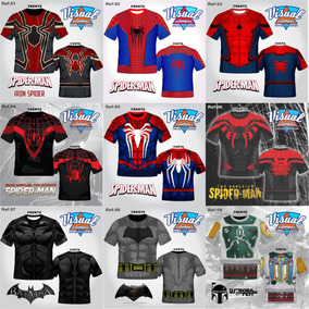 Camisetas Super Heróis Combo Com 4 Unidades Frete Grátis