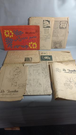 Revista Arte De Bordar Antiga 1976 Leia A Descrição