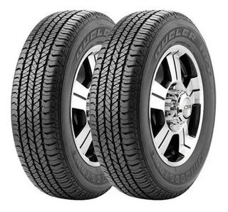 Kit X 2 Bridgestone 245 70 R16 Dueler H/t 684 Hilux Original