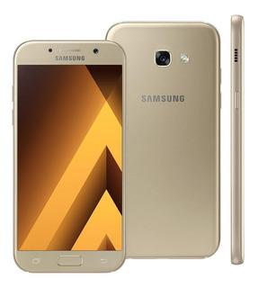 Samsung Galaxy A52017 A520f/ds 32gb Dourado Original Vitrine