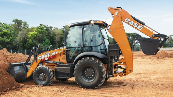 Retroescavadeira Case 580n 4x4 Cabinada 2019