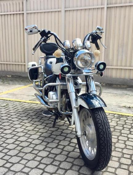 Shineray Xy 250-4 Custom Com Baú, Ano 2009 Ótimo Preço