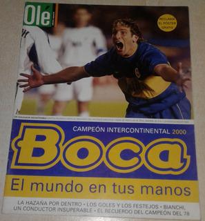 Revista Especial De Ole Boca Campeon Intercontinental 2000