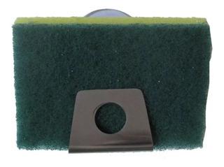 Suporte Porta Esponja Em Inox P/ Pia - Fixação Ventosa 1ºlin