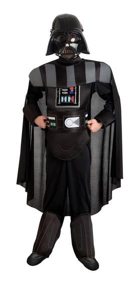 Disfraz Darth Vader Star Wars Lujo Original Niño Fantasy Ruz