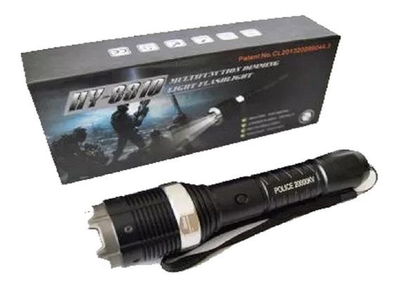 Picana Eléctrica Linterna Zoom Tactica Grande 8810 Stun Gun