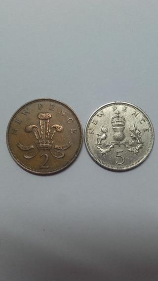 Monedas Reino Unido 1969