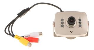 Mini Cámara De Vigilancia De Seguridad De Color Con Cable