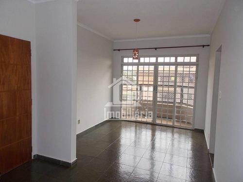 Apartamento Com 3 Dormitórios, 102 M² - Venda Por R$ 270.000,00 Ou Aluguel Por R$ 850,00/mês - Jardim Paulistano - Ribeirão Preto/sp - Ap2352