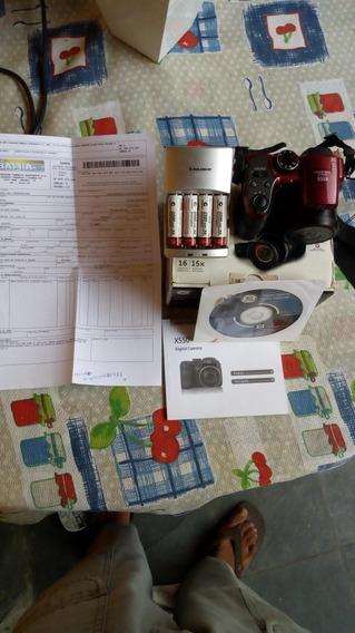 Câmera Digital 16 Megapixels 15x Zoom Ótico