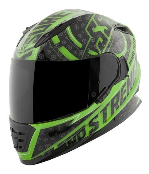 Casco Speed And Strength Ss1600 Sure Verde Integral C/lente