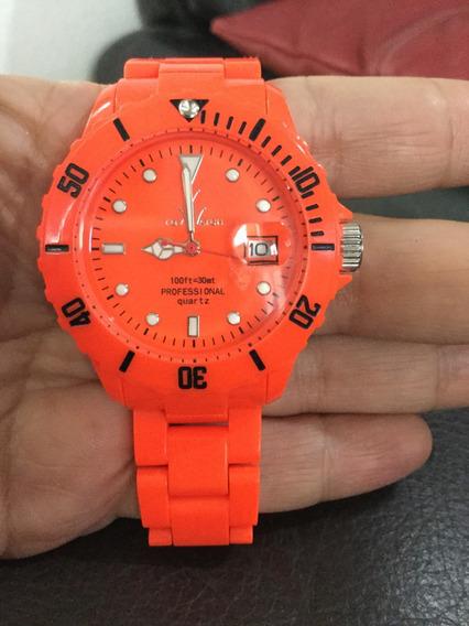 Reloj Toy Watch Neón Orage Fluo Plasteramic