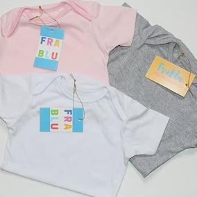 Body Basico Para Bebês Frablu