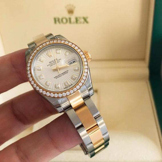Rolex Lady-datejust Full Diamonds 2019 Completo