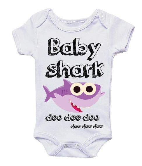 Paquete Familiar De 5 Playeras Baby Shark