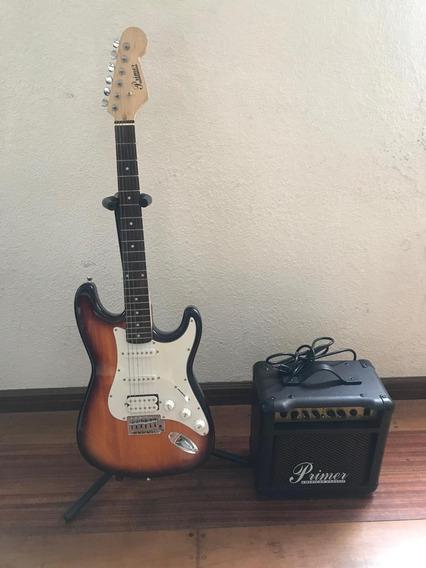 Guitarra Y Aplificador Primer American Classic