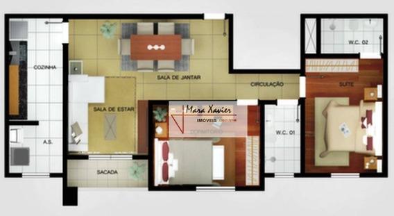 Apartamento Com 2 Dormitórios À Venda, 67 M² Por R$ 340.000 - Condomínio Campo Di Fiore - Vinhedo/sp - Ap0565