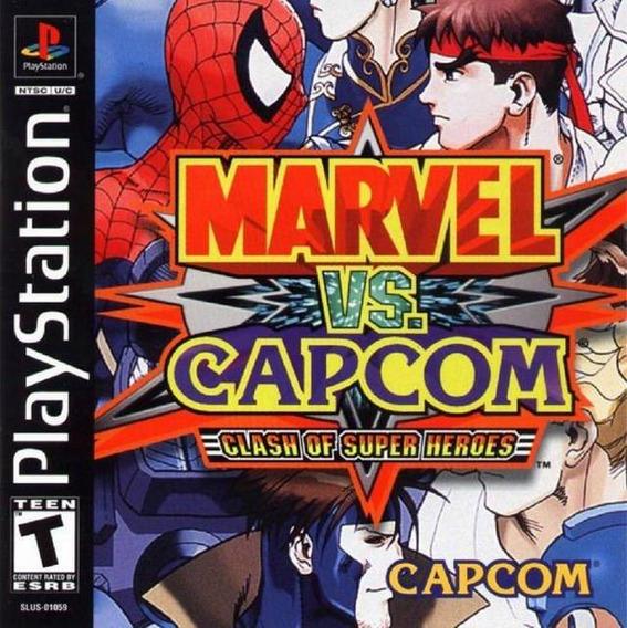 Patch Marvel Vs Capcom Ps1/ps2
