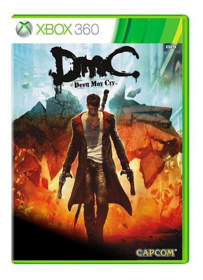 Jogo Dmc Devil May Cry - Xbox 360