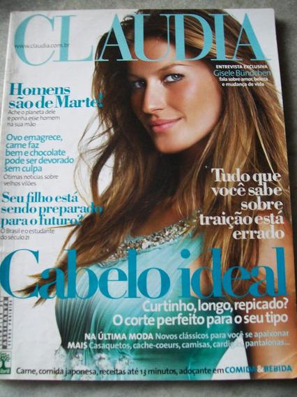 Revista Claudia - Gisele Bundchen, Presidio Feminino - 04/08