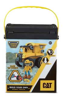 Cat Playset Construccion Vehiculo + Figura 82288 Ink Edu