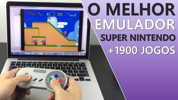 Emulador De Super Nintendo Para Pc Com + De 1.900 Jogos