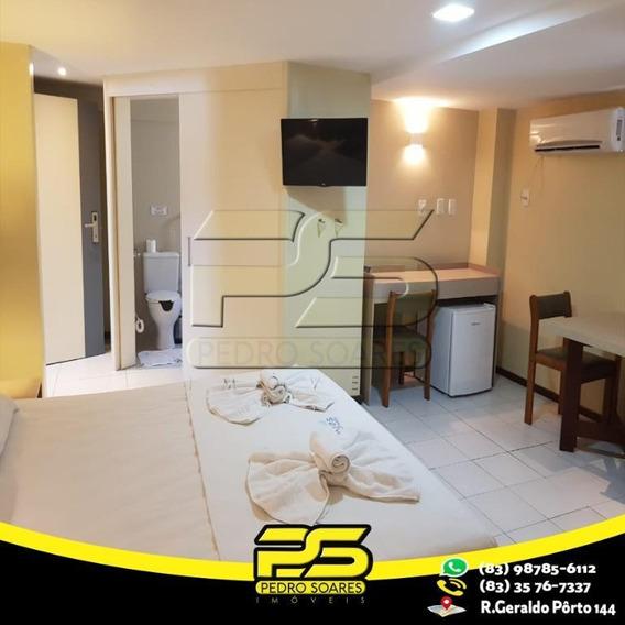 Flat Com 1 Dormitório À Venda, 27 M² Por R$ 139.000 - Tambaú - João Pessoa/pb - Fl0062