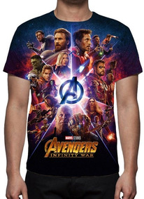 b756d41b3 Vingadores Guerra Infinita - Camisetas e Blusas no Mercado Livre Brasil