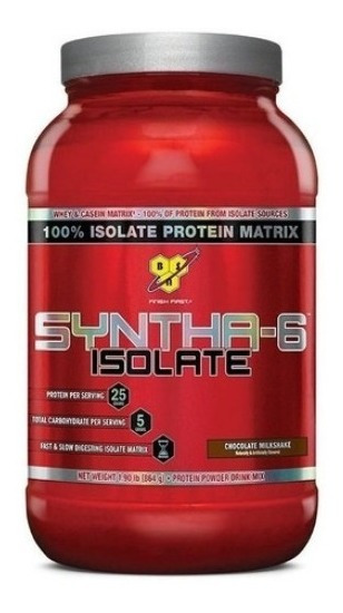 Syntha-6 Isolate 864g Whey Protein 100% Isolado Bsn
