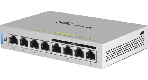 Ubiquiti Switch Unifi 8 Gigabit 4 Poe Ieee 802.3af Us-8-60w