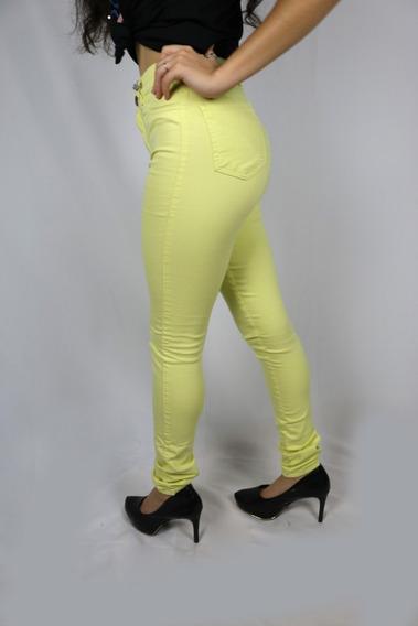 Calça Jeans Feminina Cintura Alta Lady Rock Lycra Anita