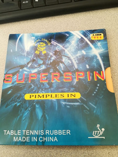 Goma Para Raqueta De Ping Pong Superspin