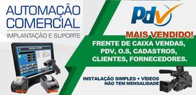Sistema Pdv, Estoque, Controle Caixa, Contas A Pagar Receber