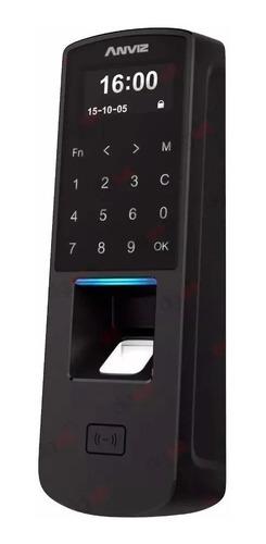 Control Acceso Horario Anviz P7 Poe Touch Tarjeta Huella