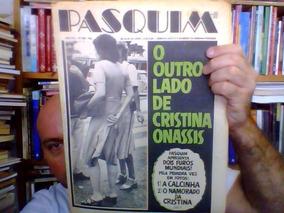Jornal O Pasquim Numero 388 - 1976 Cristina Onassis