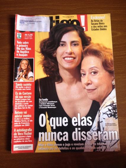 Contigo N°1547 - Vera Fischer, Rodrigo Faro, Susana Vieira
