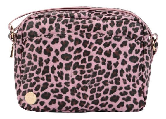 Cartera Bandolera Pu Mi-pac Cross Body Cheetah Pink