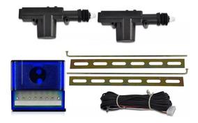 Kit Trava Elétrica Universal Gc 2 Portas Duplo Comando Motor