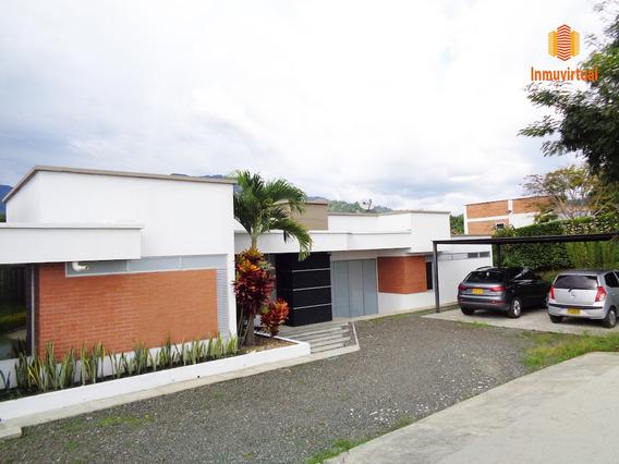 Venta Moderna Casa Campestre En Combia