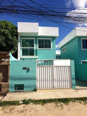 Casa Para Locação Em Rio Das Ostras, Jardim Bela Vista, 2 Dormitórios, 2 Suítes, 3 Banheiros, 1 Vaga - Amc2032