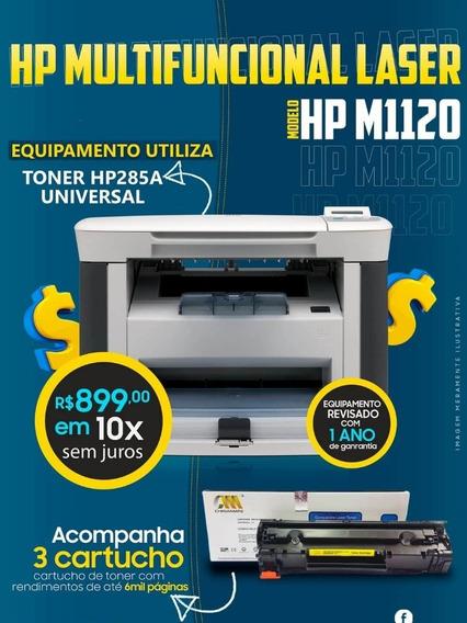 Impressora Multifuncional Hp Laser M1120