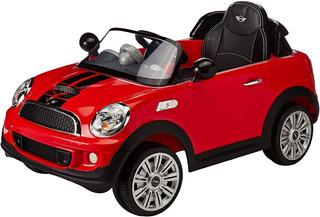 Auto Eléctrico Mini Cooper Prinsel Con Control Solo Irapuato