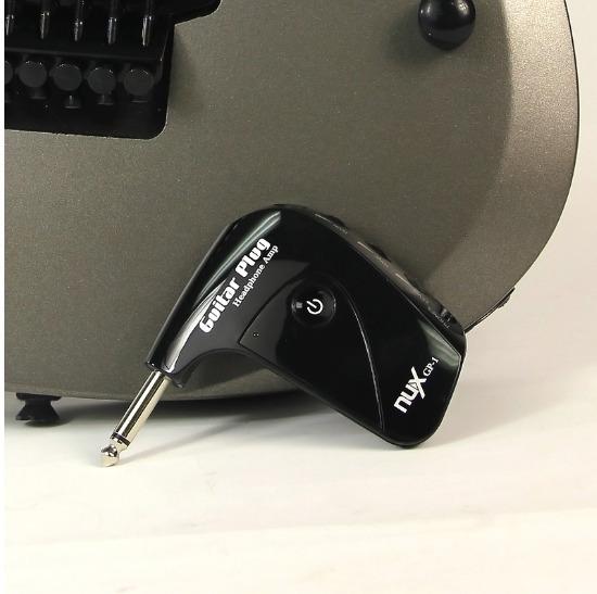 Mini Amplificador Plug P10 Guitarra Fone De Ouvido Nux Gp