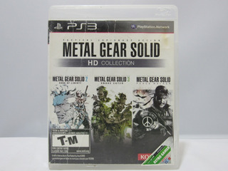 Metal Gear Solid Hd Collection - Ps3 ¡usado! Sin Manual